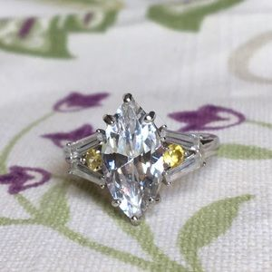 Bella Luce marquis ring size 9